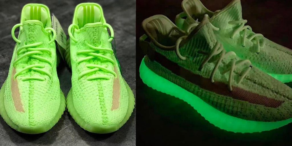 "5127947276b adidas YEEZY BOOST 350 V2 ""Glow-in-the-Dark"" – sneakerfever"