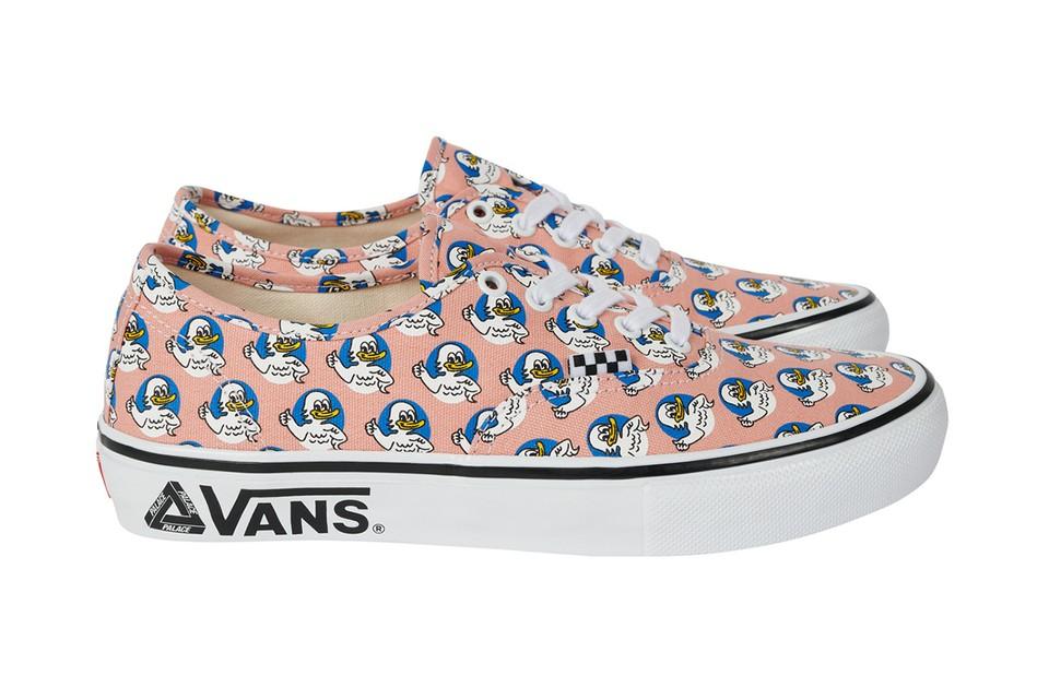 Palace x Vans - sneakerfever